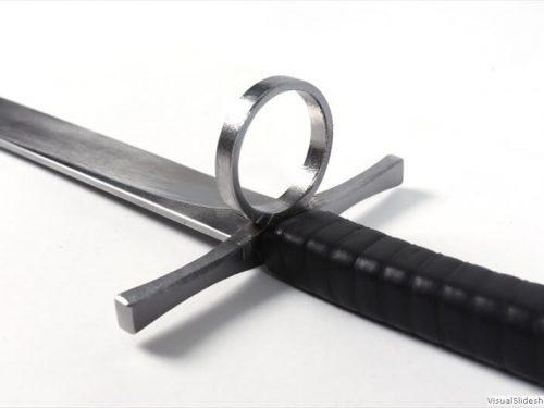 """Standard"" ringed nagel – |14 cm|"